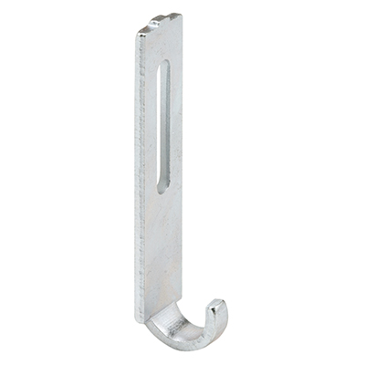 "Picture of A 159 - Sliding Screen Dr. Latch Strike, 9/16"", Steel, Zinc Plated"