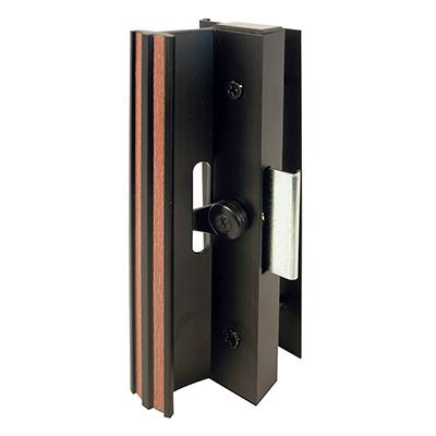 """Picture of C 1006 - Handle Set, 4-15/16"""" HC, Aluminum Anodized, Black"""