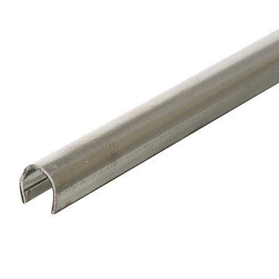 Picture of D 1580 - Track Repair Cap, 10', Stainless Steel