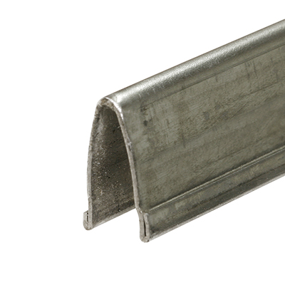 """Picture of D 1581 - Track Repair Cap, 9/16"""" x 8', Stainless Steel"""