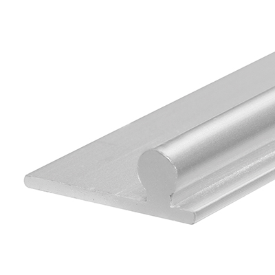 Picture of D 1654 - Sliding Glass Door Track, 6', Aluminum, Anodized