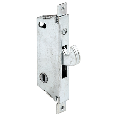 "Picture of E 2008 - Mortise Lock, 3-11/16"", Steel, Vert. Keyway, Sq. Faceplate"