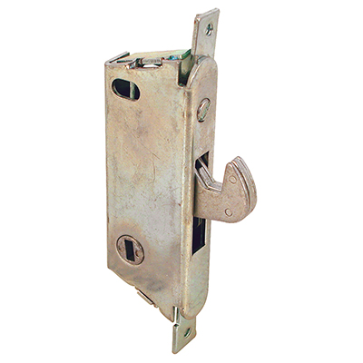 "Picture of E 2009 - Mortise Lock, 3-11/16"", Steel, Vert. Keyway, Round Faceplate"