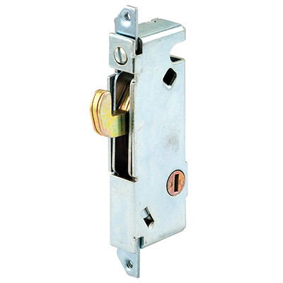 "Picture of E 2012 - Moritse Lock, 3-11/16"", Steel, Vert. Keyway, Sq. Faceplate"