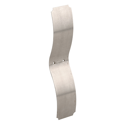 """Picture of F 2538 - Sash Tensioning Spring, 1-1/4"""" x 5-1/2"""", Steel, Chrome Pltd."""