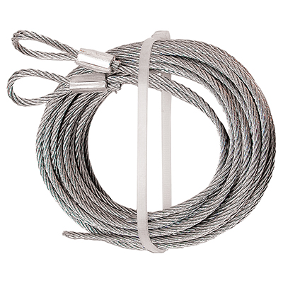 """Picture of GD 52100 - Extension Cables, 1/8"""" Cable, Carbon Steel"""