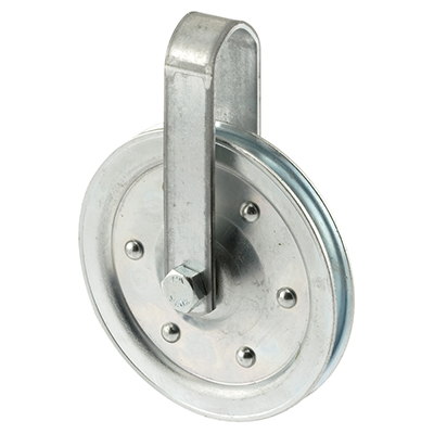 """Picture of GD 52108 - Pulley w/ Strap and Axle Bolt, 4"""""""