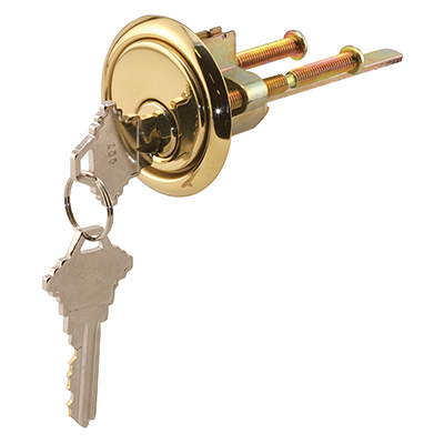 Picture of GD 52139 - Rim Cylinder Lock, Zinc Diecast, 5-Pin Tumbler Lock