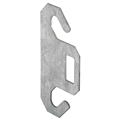 "Picture of GD 52198 - Dual Spring Hook Plate, for 3"" Pulley, Steel"
