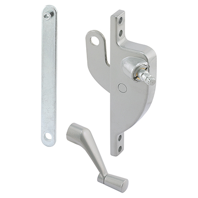 "Picture of H 3550 - Jalousie Window Operator, 4"" Link, Diecast, Aluminum, Right"