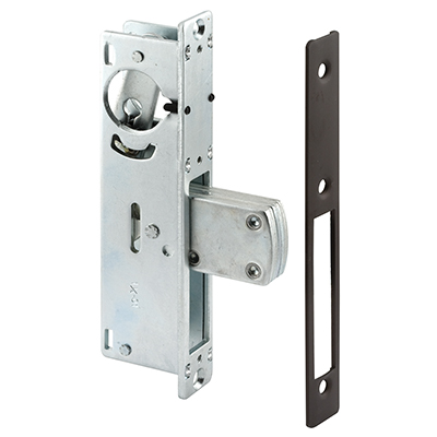 "Picture of J 4527 - Deadbolt Lock, 1-1/8"" Backset, Steel, Bronze Finish"