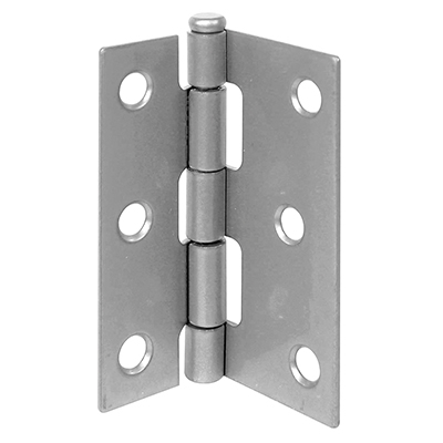 """Picture of K 5038 - Replacement Hinge, 3"""" Long, Steel, Aluminum Finish"""