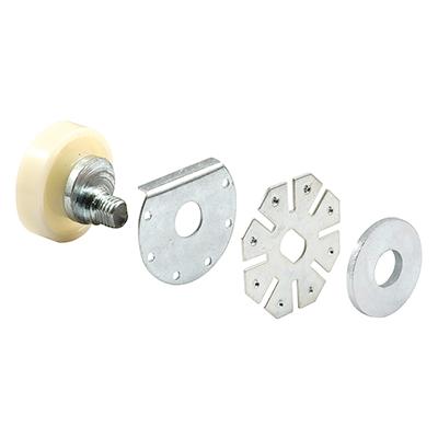 "Picture of M 6006 - Shower Door Roller Assembly, 7/8"", Plastic, Flat, Adjustable"