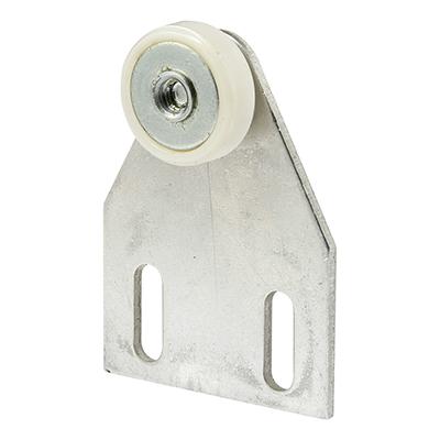 """Picture of M 6008 - Shower Door Top Bracket, 3/4"""", Plastic, BB, Flat, Adjustable"""