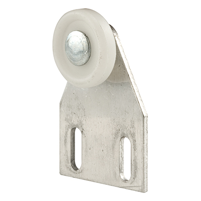"Picture of M 6009 - Shower Dr Top Bracket, 7/8"", Plastic, Flat Edge, Adjustable"