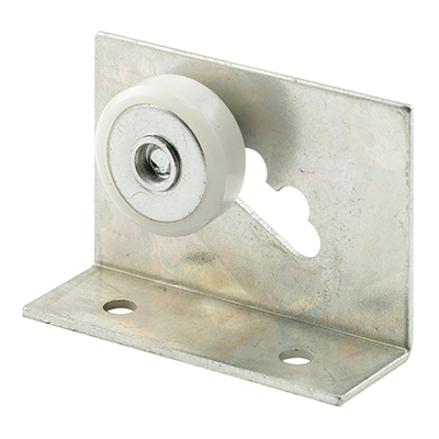 "Picture of M 6011 - Shower Dr Top Bracket, 3/4"", Plastic, BB, Flat, Adjustable"