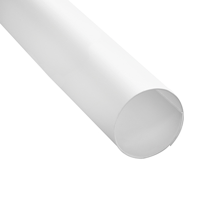 Picture of M 6101 - 60 in. White Plastic Shower Rod Cover