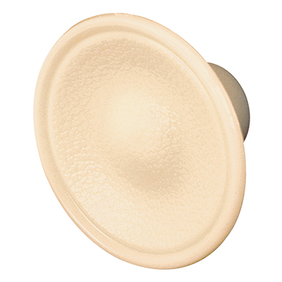 """Picture of N 6754 - Knob, 1-13/16"""", Plastic, Ivory"""