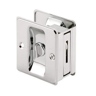 Picture of N 6773 - Pocket Door Privacy Lock (chrome)