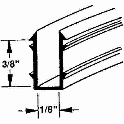 Picture of P 7537 - Vinyl Glazing Channel (double Strength)