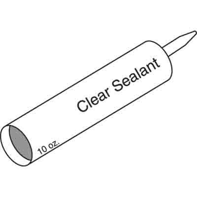 Picture of P 7868 - Sealant, 10 oz. Tube, Siliconized Sealant, Clear