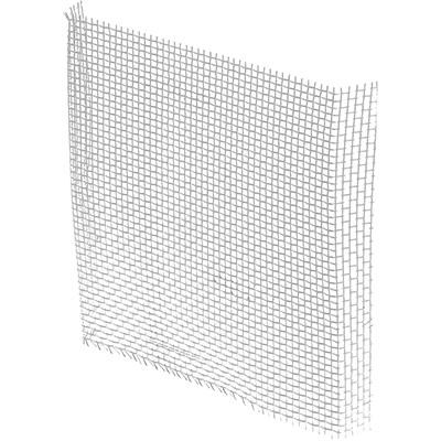 """Picture of P 7548 - Screen Repair Patches, 3"""" x 3"""", Aluminum Finish"""