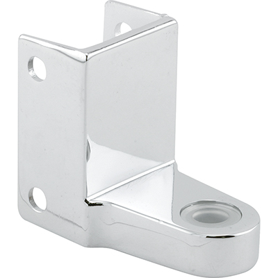 "Picture of PH 17027 - Top Hinge Bracket, 1-1/2"" HC, Diecast, Chrome Plated"