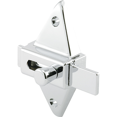 """Picture of PH 17039 - Slide Latch, 2-3/4"""" Hole Centers, Diecast, Chrome Plated"""