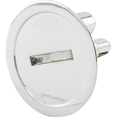 """Picture of PH 17041 - Emergency Entry Knob, 1-1/4"""" Dia, Diecast, Chrome Plated"""