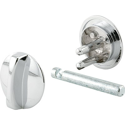 """Picture of PH 17043 - Concealed Lock, 1-1/4"""" Dia, Diecast, Chrome Plated"""
