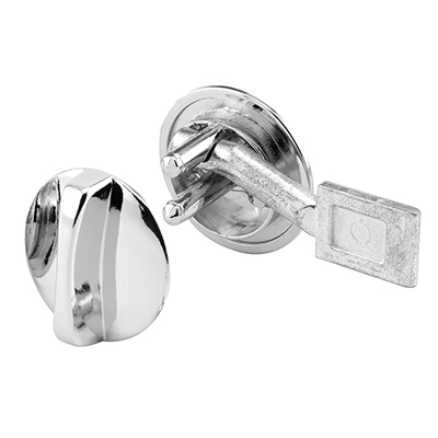 """Picture of PH 17062 - Concealed Lock, 1-3/16"""" Dia, Diecast, Chrome Plated"""