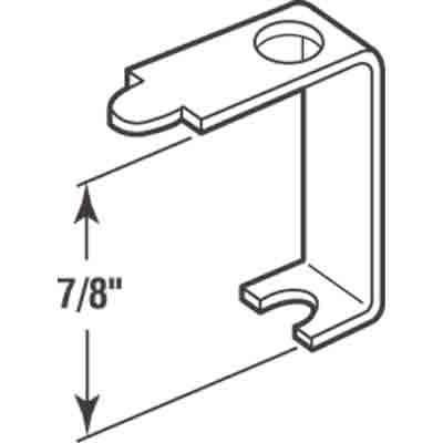 "Picture of PL 14609 - Casement Screen Clips, 7/8"", Aluminum, 25 Clips w/Screws"