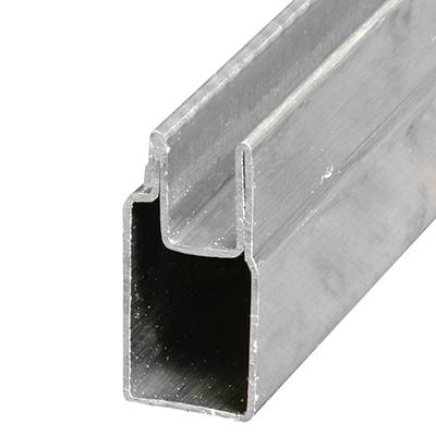 "Picture of PL 14152 - Aluminum Window Frame, 3/8""x25/32"", 72"", .020 Gauge"