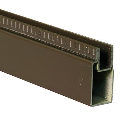 "Picture of PL 14153 - Aluminum Window Frame, 3/8"" x 25/32"", 72"" Long, .020 Gauge"