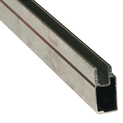 "Picture of PL 14155 - Aluminum Window Frame, 3/8""x25/32"", 94"", .020 Gauge, Mill"
