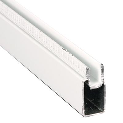 "Picture of PL 14157 - Aluminum Window Frame, 3/8""x25/32"", 94"" Long, .020 Gauge"