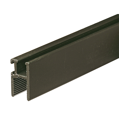 """Picture of PL 14190 - Side and Top Window Frame, 11/32"""" x 5/8"""", 72"""" Long, Bronze"""