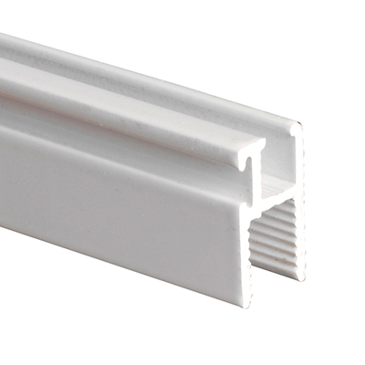 """Picture of PL 14191 - Side and Top Window Frame, 11/32"""" x 5/8"""", 72"""" Long, white"""