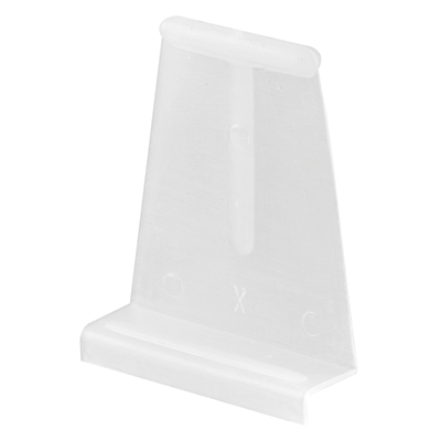 "Picture of PL 14618 - Spline Channel Pull Tabs, 1-1/16""H, Plastic, White"