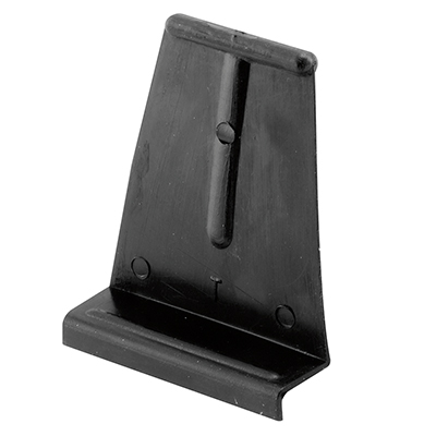 "Picture of PL 14621 - Spline Channel Pull Tabs, 1-1/16""H, Plastic, Black"