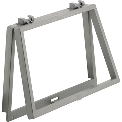 """Picture of PL 14698 - Wicket, 6-1/8"""" x 10-1/8"""", Plastic, Gray"""