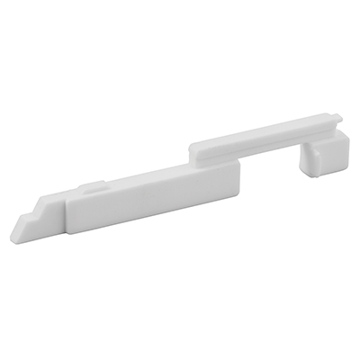 """Picture of PL 15300 - Slide Bolts, 3-7/8"""", Plastic, White, Left-Hand"""
