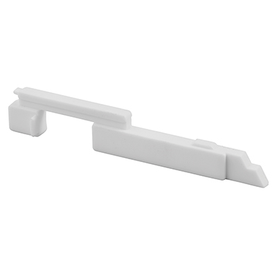 """Picture of PL 15302 - Slide Bolts, 3-7/8"""", Plastic, White, Right-Hand"""