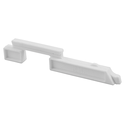 """Picture of PL 15306 - Slide Bolts, 3-5/8"""", Plastic, White, Right Hand"""