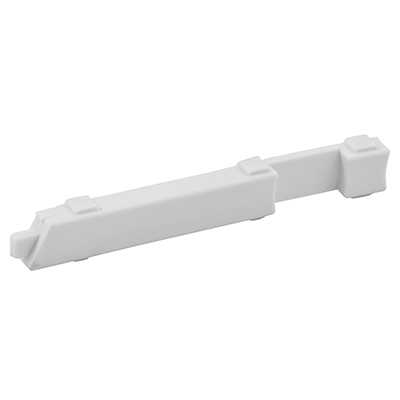 """Picture of PL 15308 - Slide Bolts, 4"""", Plastic, White, Left Hand"""