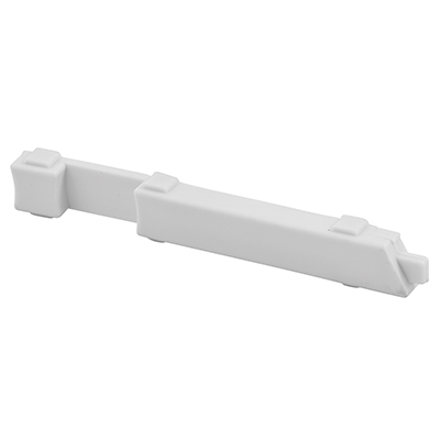 """Picture of PL 15310 - Slide Bolts, 4"""", Plastic, White, Right Hand"""