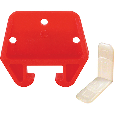 """Picture of CCBP 7156 - Drawer Track Guide Kit, 5/16"""" x 13/16"""", Plastic"""