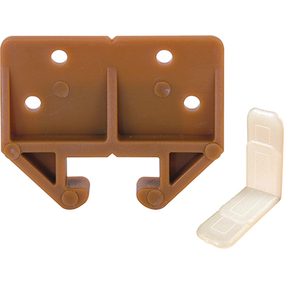"""Picture of R 7084 - Drawer Track Guide Kit, 29/32"""", Plastic, Brown"""