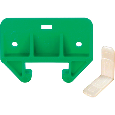 """Picture of R 7085 - Drawer Track Guide Kit, 1-1/8"""", Plastic, Green/White"""