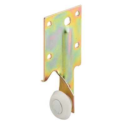 """Picture of R 7132 - Drawer Track Roller, 27/32"""", Plastic Roller, Steel Bracket"""